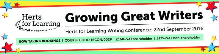 Growing Great Writers HfL conference 22nd September 2016 - NOW TAKING BOOKINGS!