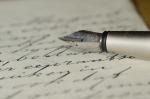 Family Letters Letter Handwriting Fountain Pen